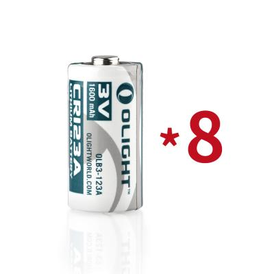 8节CR123A电池(常规)